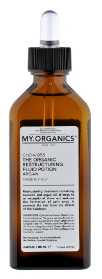 The Organic Restructuring Fluid Potion Argan_AR